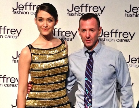 Emmy Rossum and Jeffrey Kalinsky