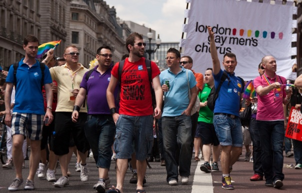 London Gay Men's Chorus   parade 2011 (via Flickr)