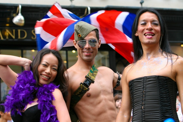 Crowd during London Pride 2009 via Flickr