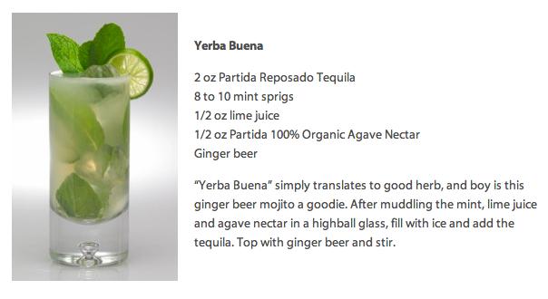 Partida-Tequila-Yerba-Buena-cocktail