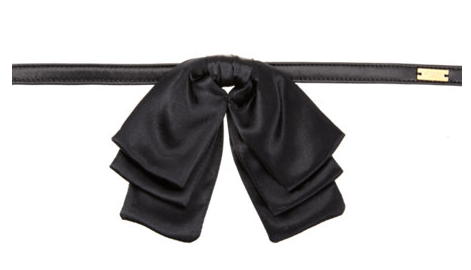 saint-laurent-triple-bow-tie