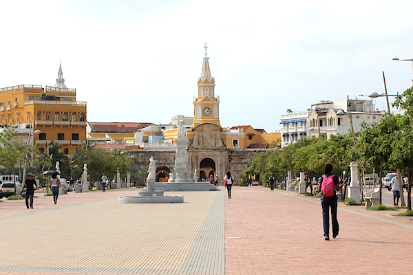 cartagena-old-city-Torre-del-Reloj