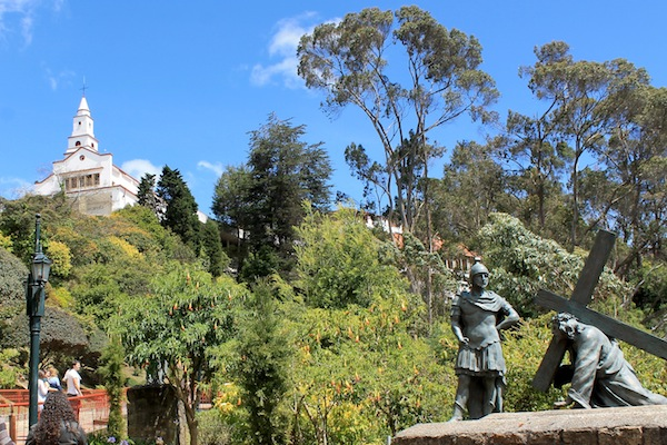 Bogota-Monserrate-Mountain-Path