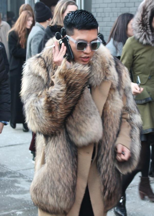 Street Style Men S Fur Coats Accessories Amp Chic Looks