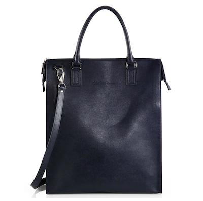 Saks-Fifth-Avenue-Black-Label-Vertical-Saffiano-Tote-Bag