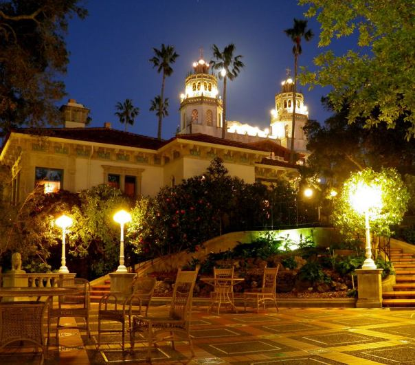 Hearst-Castle-night-2