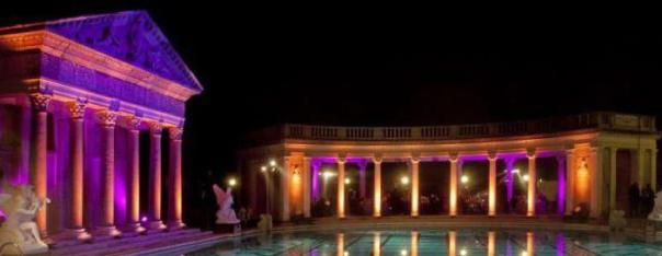 Hearst-Castle-night