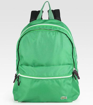 Lacoste-Backcroc-Medium-Backpack-green