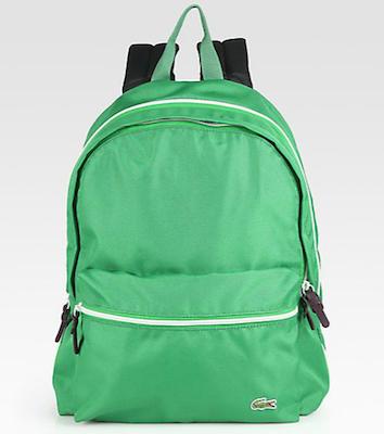 Lacoste-Backcroc-Medium-Backpack-green