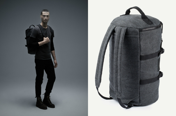Must Have Mixed Media Military Duffle Backpack From Frank