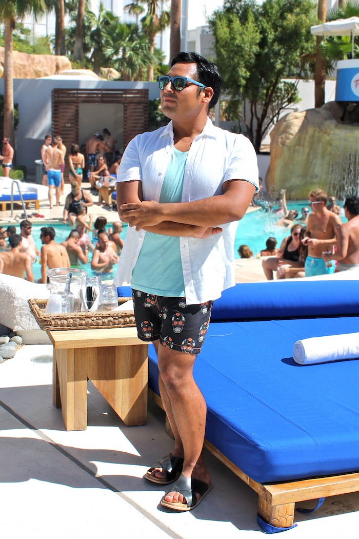 incredible pool party outfits men 11