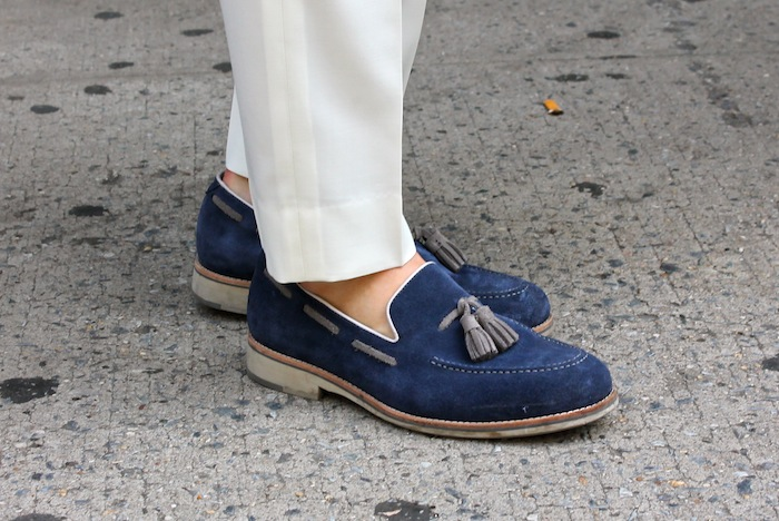 20 of the Best Men s Shoes From New York Fashion Week Street Style ... 8d3ea9fc3