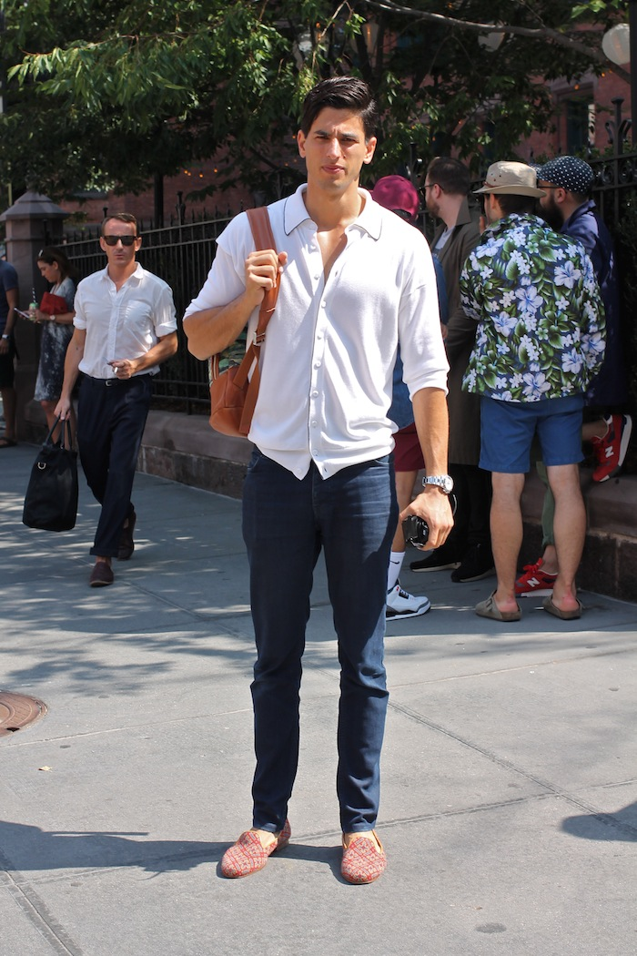 Men's Street Style From New York Fashion Week Spring ...