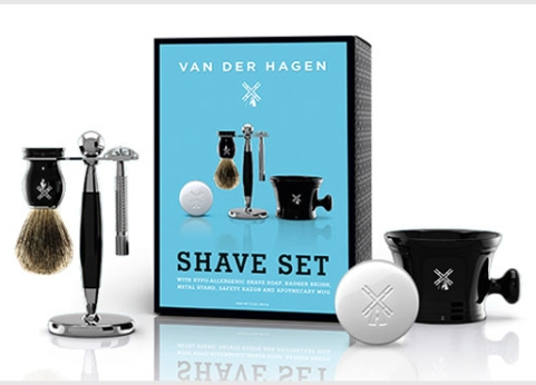 van-der-hagen-Big-Blue-Shave-Set