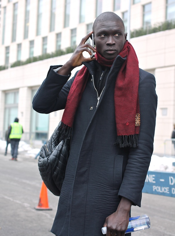 Male Model Street Style At New York Fashion Week Fall Winter 2015 Vee Travels