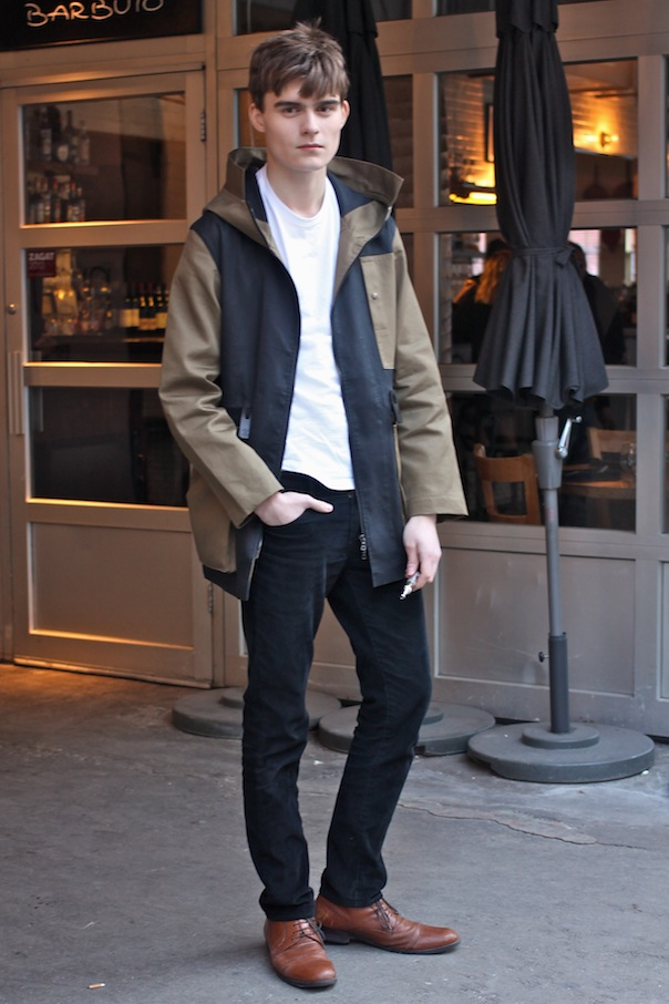 Male model street style at new york fashion week fall winter 2015 vee travels Street style ny fashion week fall 2015