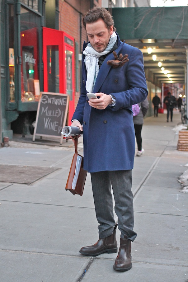 Men S Street Style From New York Fashion Week Fall Winter 2015 Vee Travels