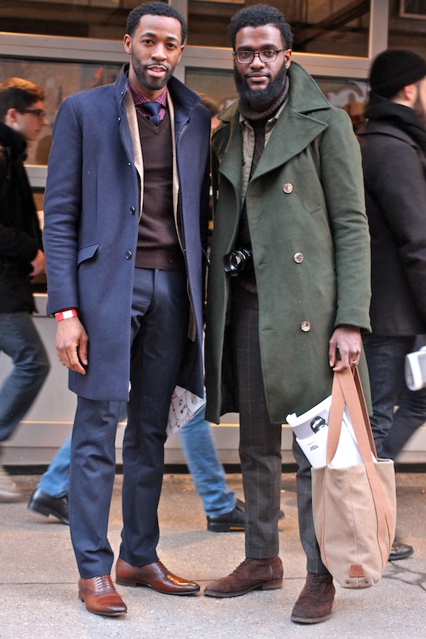 Men's Street Style from New York Fashion Week Fall ...