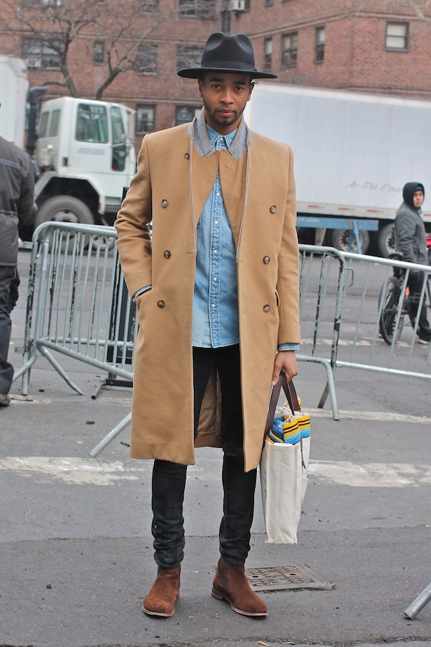 Men S Street Style From New York Fashion Week Fall
