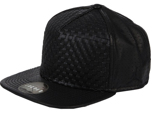 Westbrook-XO-Barneys-New-York-Jordan-Woven-Front-Leather-Baseball-Cap