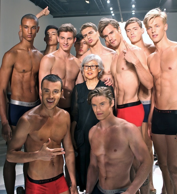 Backstage with Parke & Ronen Models and the Spring 2016 ...