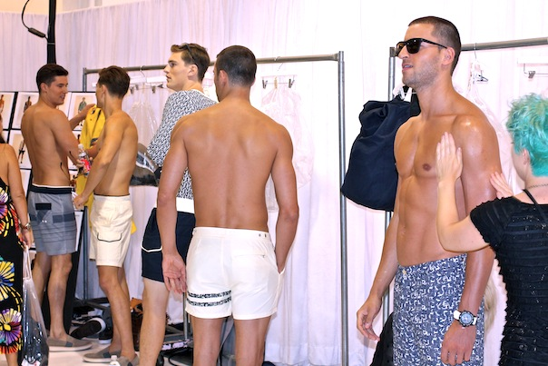 Nautica Men's Spring 2016 Collection and Backstage Photos ...