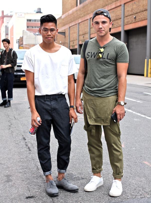 new-york-fashion-week-mens-street-style-spring-summer-justin-livingston-anthony-urbano