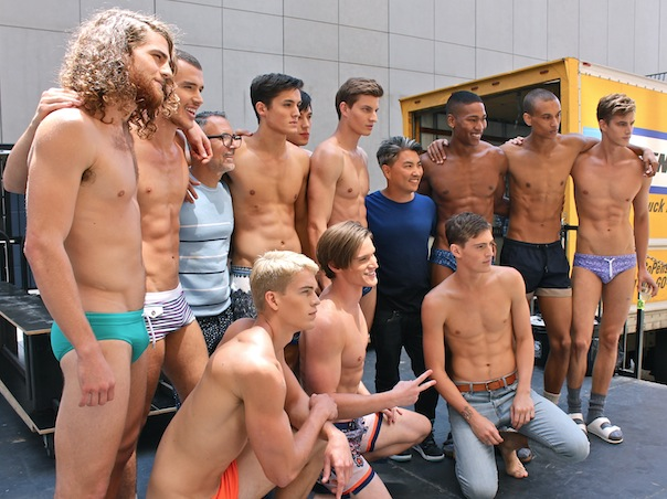 dbd4c17b23f Backstage with Parke & Ronen Models and the Spring 2016 Collection ...