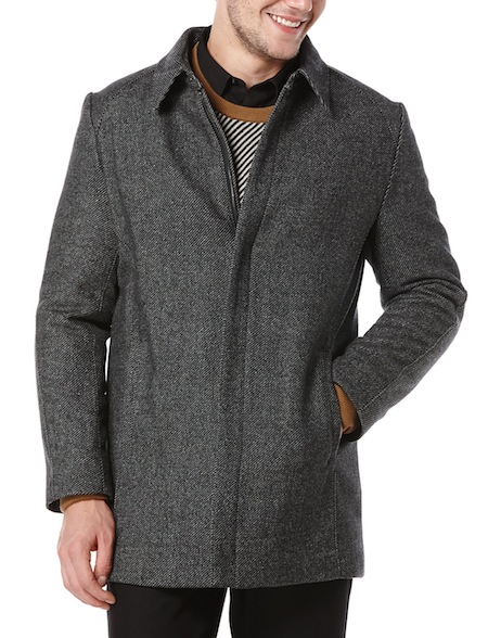 Perry-Ellis-wool-twill-top-coat