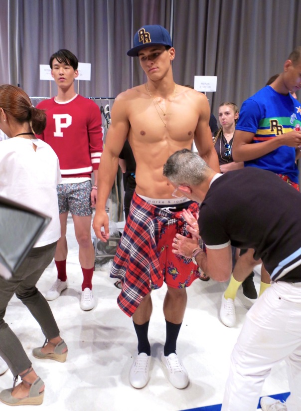 Backstage With Parke Amp Ronen Models And The Spring 2017